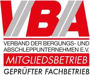 Logo VBA-Bergungs-Abschleppunternehmen