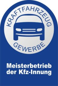 Logo KFZ Innung - Meisterbetrieb
